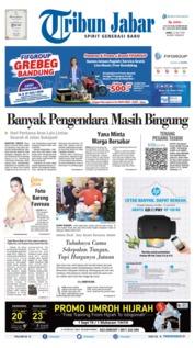 Tribun Jabar Cover 12 July 2019