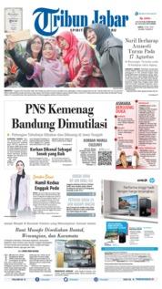 Tribun Jabar Cover 13 July 2019