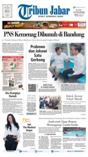 Tribun Jabar Cover 14 July 2019