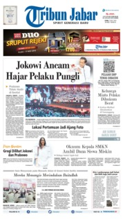 Tribun Jabar Cover 15 July 2019