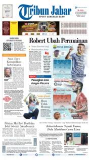 Cover Tribun Jabar 16 Juli 2019
