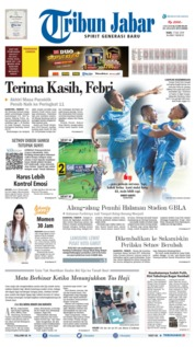 Tribun Jabar Cover 17 July 2019