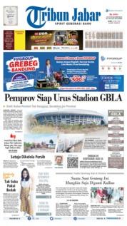 Cover Tribun Jabar 18 Juli 2019