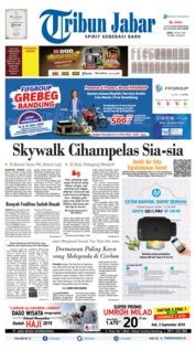 Cover Tribun Jabar 19 Juli 2019
