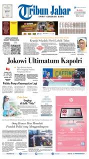 Cover Tribun Jabar 20 Juli 2019
