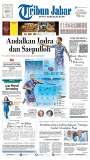 Cover Tribun Jabar 21 Juli 2019