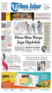 Cover Tribun Jabar 01 Agustus 2019