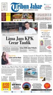 Tribun Jabar Cover 02 August 2019
