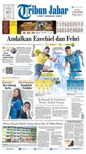 Tribun Jabar Cover 04 August 2019