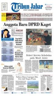Tribun Jabar Cover 05 August 2019