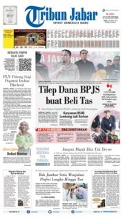 Tribun Jabar Cover 07 August 2019