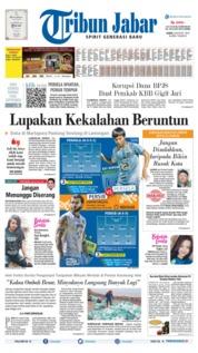 Tribun Jabar Cover 08 August 2019