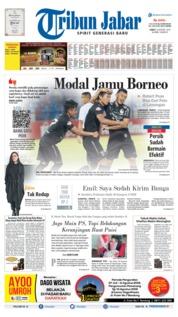 Tribun Jabar Cover 09 August 2019