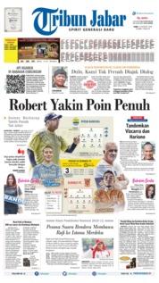 Tribun Jabar Cover 14 August 2019