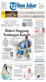 Tribun Jabar Cover 15 August 2019
