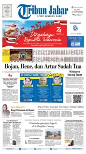 Tribun Jabar Cover 16 August 2019