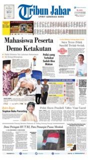 Cover Tribun Jabar 17 Agustus 2019