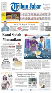 Tribun Jabar Cover 18 August 2019