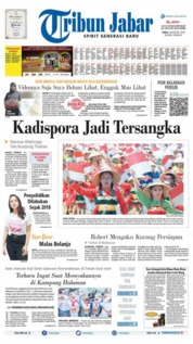 Tribun Jabar Cover 19 August 2019