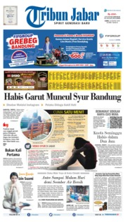 Tribun Jabar Cover 22 August 2019