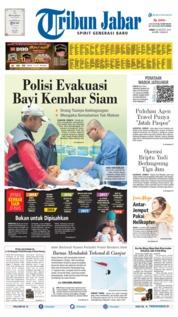 Cover Tribun Jabar 23 Agustus 2019