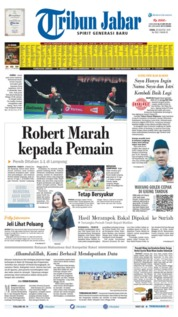 Tribun Jabar Cover 26 August 2019