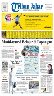 Tribun Jabar Cover 08 September 2019