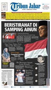 Tribun Jabar Cover 12 September 2019