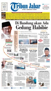 Tribun Jabar Cover 13 September 2019