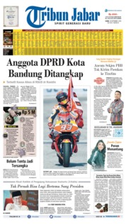 Tribun Jabar Cover 16 September 2019