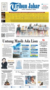 Tribun Jabar Cover 17 September 2019