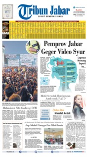 Cover Tribun Jabar 20 September 2019