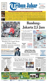 Tribun Jabar Cover 29 September 2019