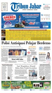 Tribun Jabar Cover 30 September 2019