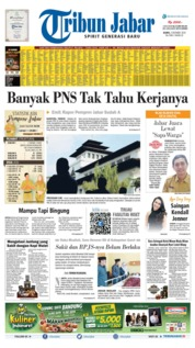 Tribun Jabar Cover 03 October 2019