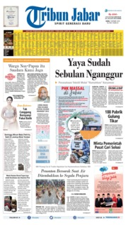 Tribun Jabar Cover 07 October 2019