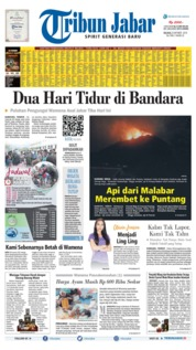Tribun Jabar Cover 08 October 2019
