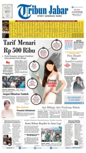 Tribun Jabar Cover 09 October 2019