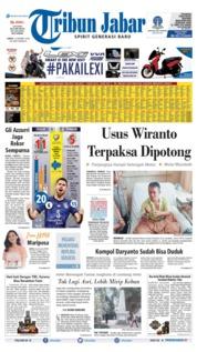 Cover Tribun Jabar 12 Oktober 2019
