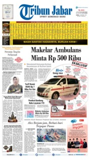 Cover Tribun Jabar 14 Oktober 2019