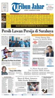 Cover Tribun Jabar 16 Oktober 2019