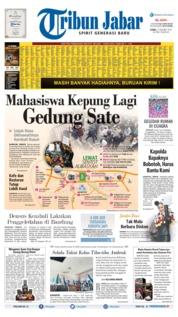 Cover Tribun Jabar 17 Oktober 2019