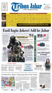 Tribun Jabar Cover 20 October 2019