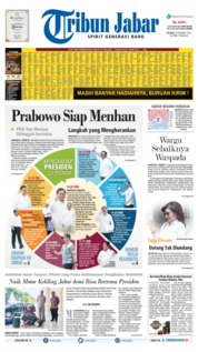 Tribun Jabar Cover 22 October 2019