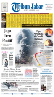 Tribun Jabar Cover 23 October 2019