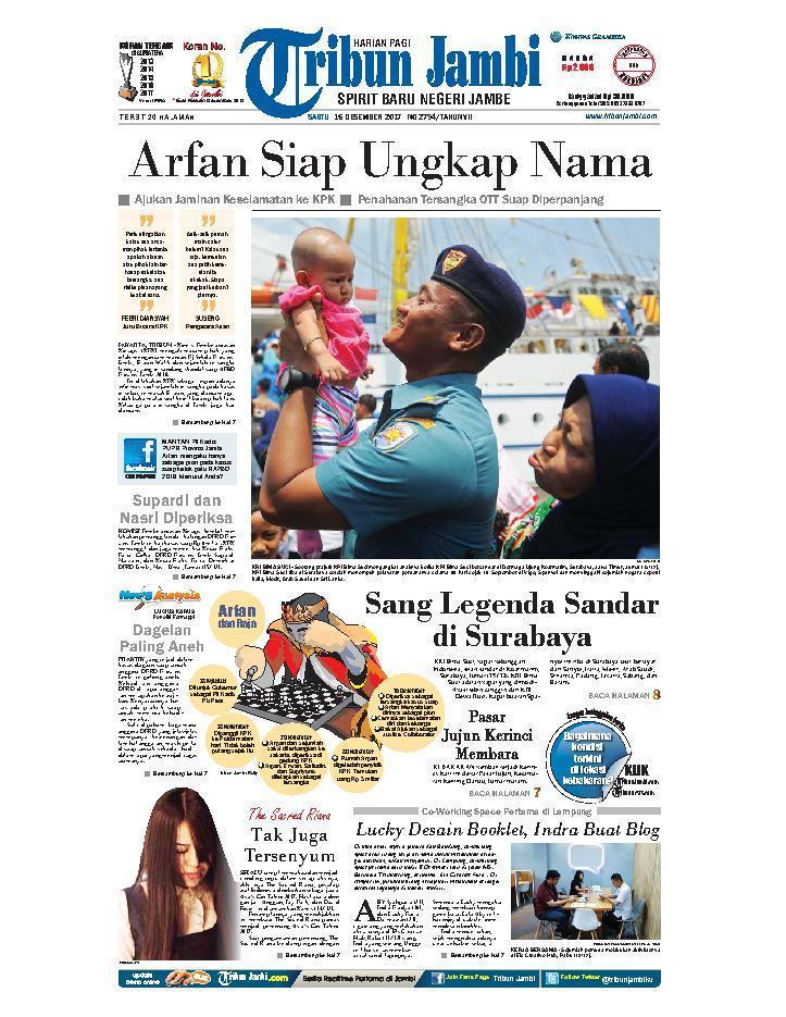 Koran Digital Tribun Jambi 16 Desember 2017