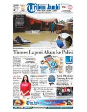 Cover Tribun Jambi 20 Maret 2018