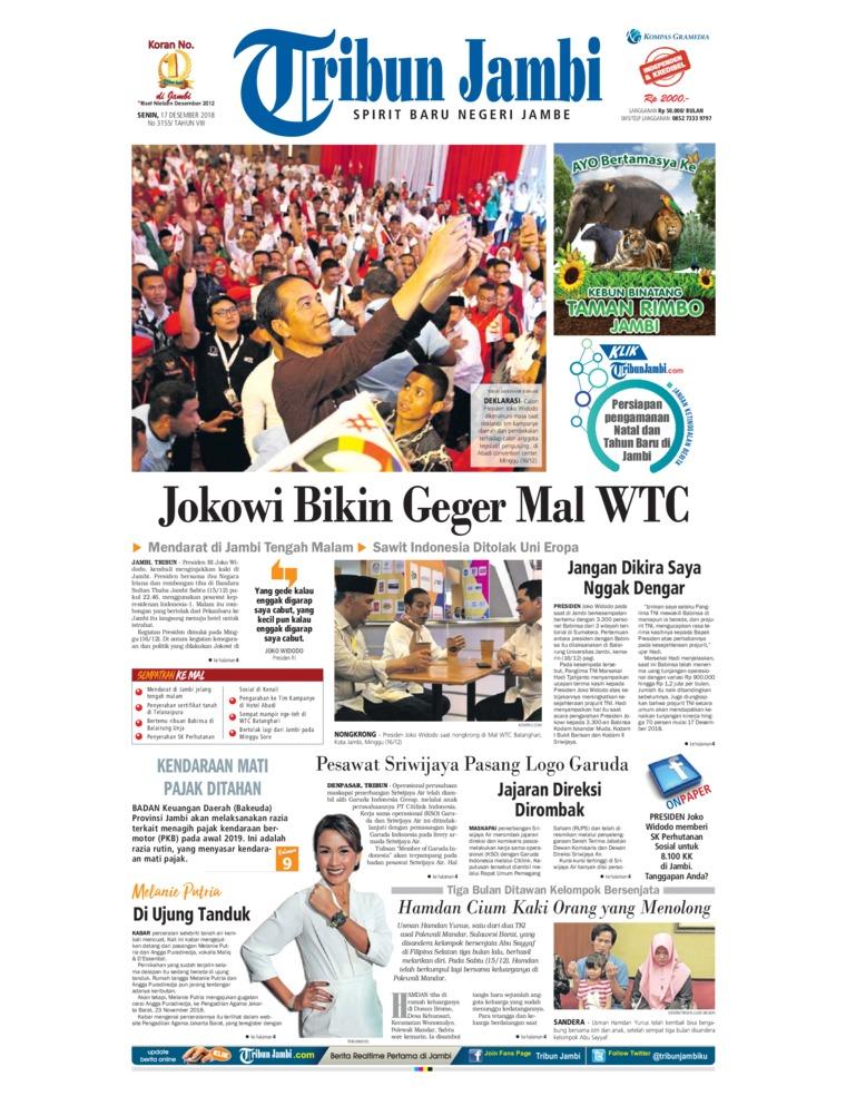 Koran Digital Tribun Jambi 17 Desember 2018