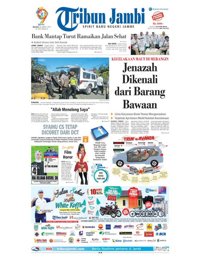 Koran Digital Tribun Jambi 26 Maret 2019