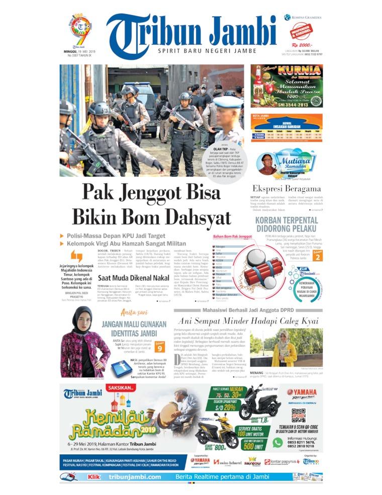 Koran Digital Tribun Jambi 19 Mei 2019